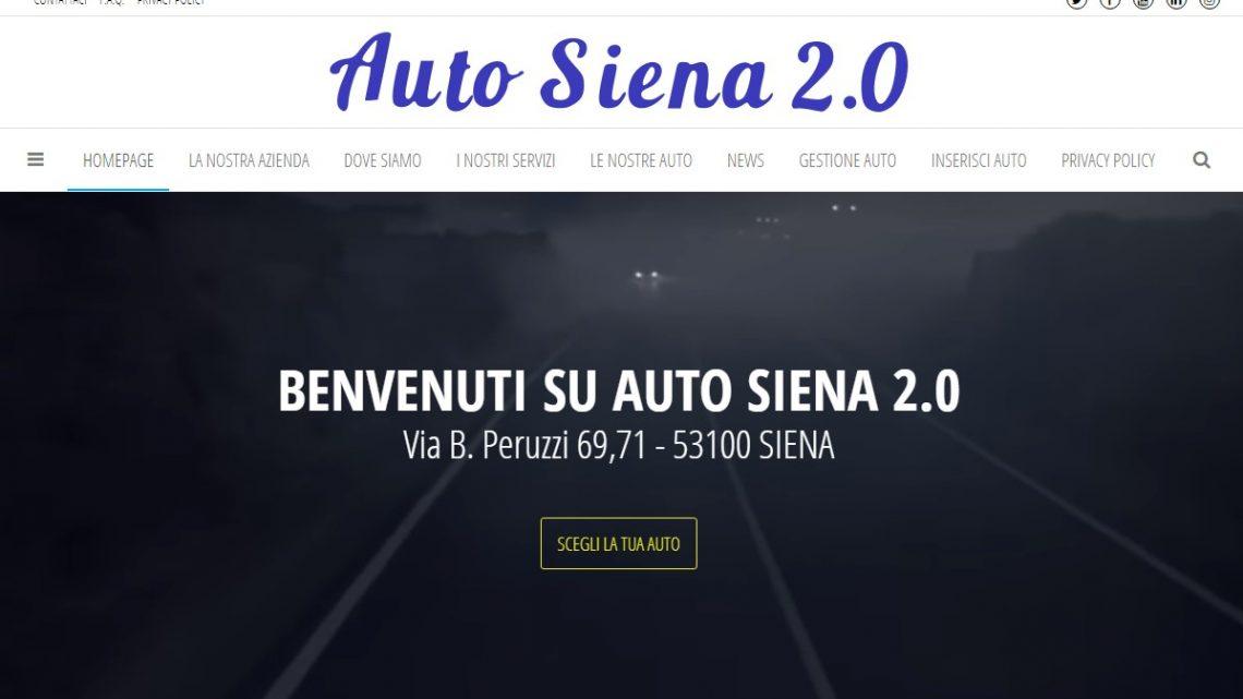 Il nuovo sito di Siena Auto 2.0